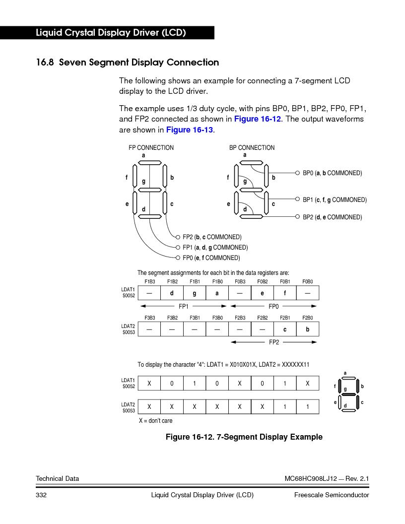 MC908LJ12CFUE ,Freescale Semiconductor厂商,IC MCU 12K FLASH 4/8MHZ 64-QFP, MC908LJ12CFUE datasheet预览  第332页