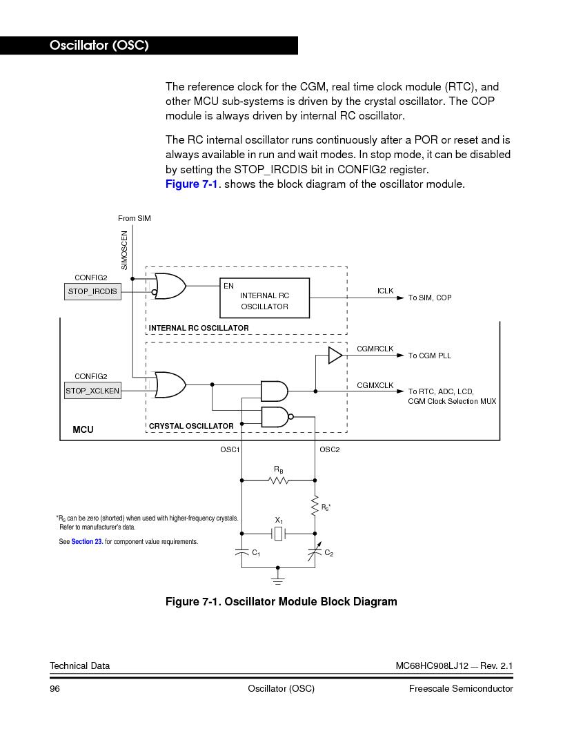 MC908LJ12CFUE ,Freescale Semiconductor厂商,IC MCU 12K FLASH 4/8MHZ 64-QFP, MC908LJ12CFUE datasheet预览  第96页