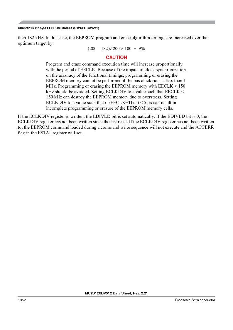 MC9S12XD256MAL ,Freescale Semiconductor厂商,IC MCU 256K FLASH 112-LQFP, MC9S12XD256MAL datasheet预览  第1050页