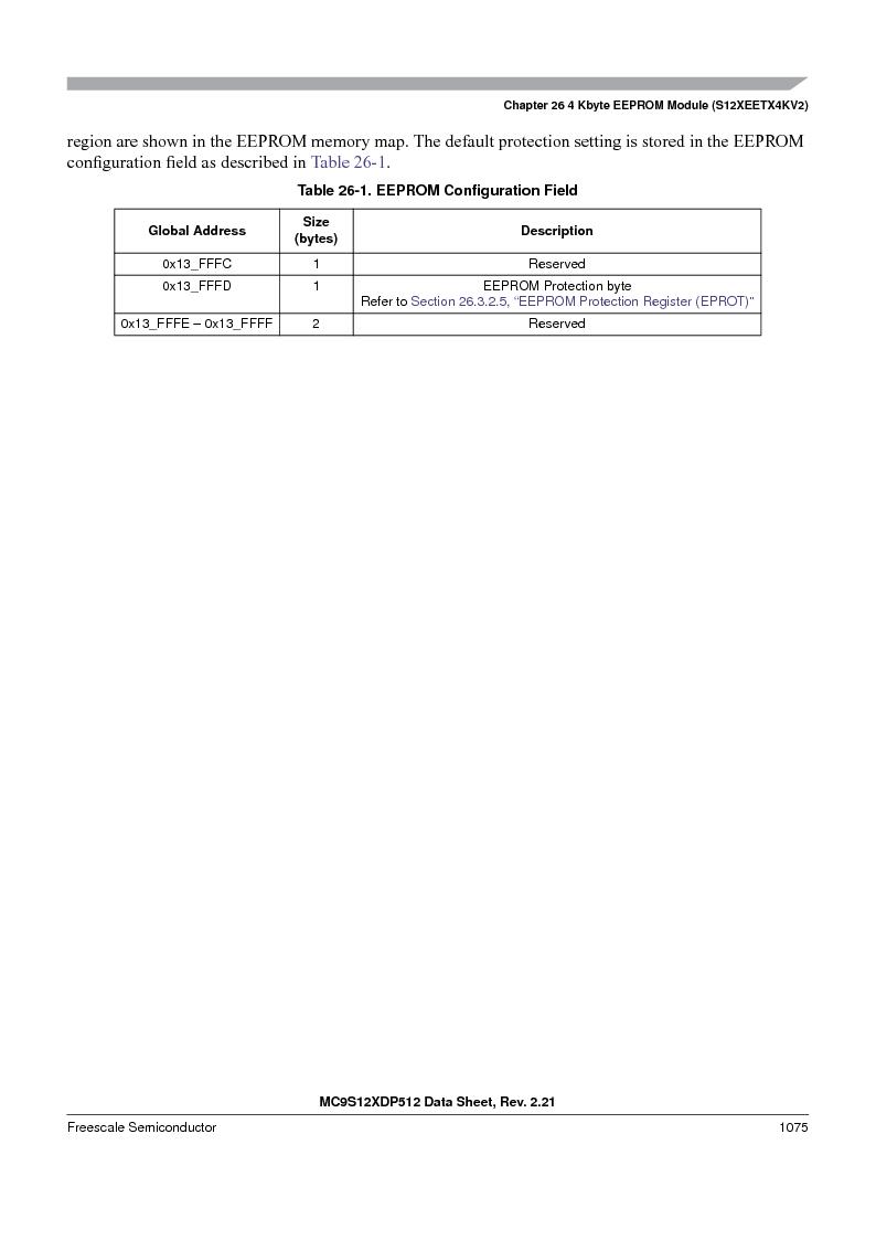 MC9S12XD256MAL ,Freescale Semiconductor厂商,IC MCU 256K FLASH 112-LQFP, MC9S12XD256MAL datasheet预览  第1073页