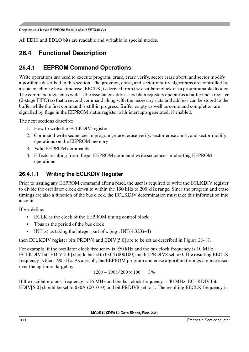 MC9S12XD256MAL ,Freescale Semiconductor厂商,IC MCU 256K FLASH 112-LQFP, MC9S12XD256MAL datasheet预览  第1084页