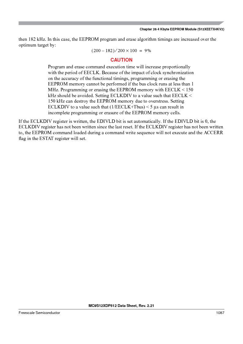 MC9S12XD256MAL ,Freescale Semiconductor厂商,IC MCU 256K FLASH 112-LQFP, MC9S12XD256MAL datasheet预览  第1085页
