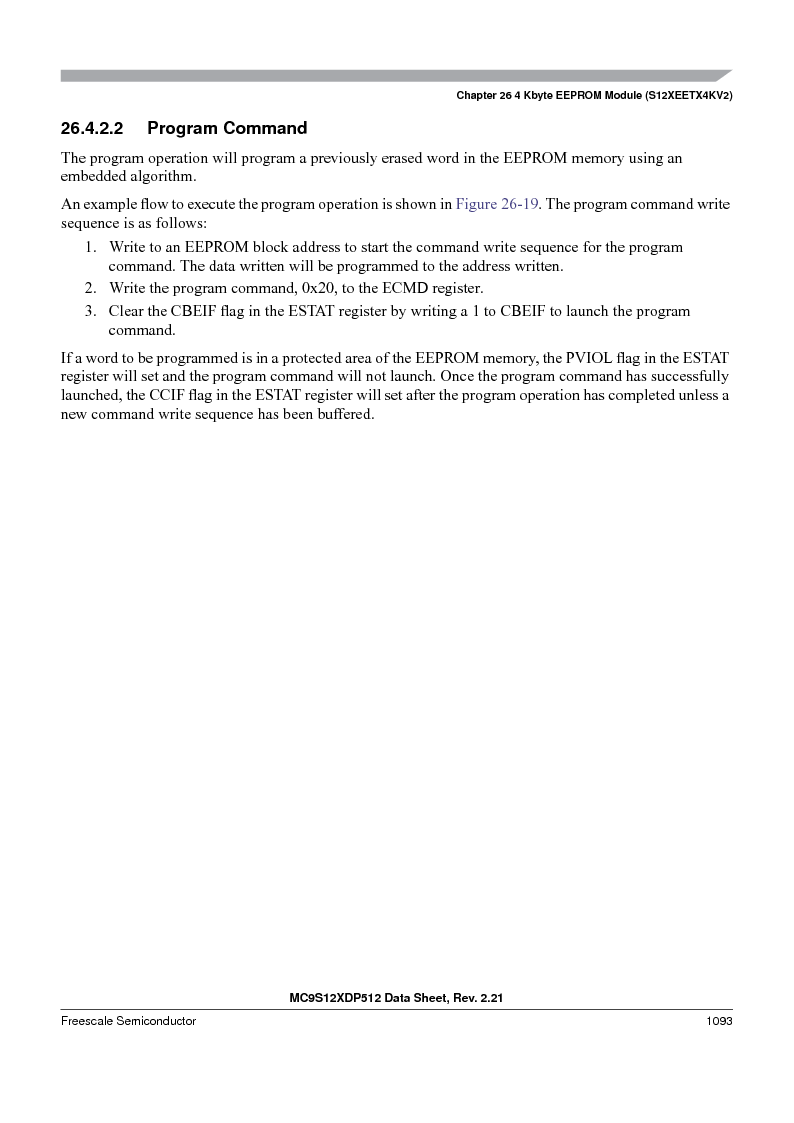 MC9S12XD256MAL ,Freescale Semiconductor厂商,IC MCU 256K FLASH 112-LQFP, MC9S12XD256MAL datasheet预览  第1091页