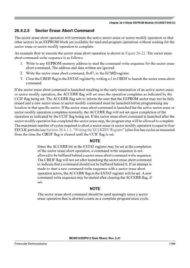 MC9S12XD256MAL ,Freescale Semiconductor厂商,IC MCU 256K FLASH 112-LQFP, MC9S12XD256MAL datasheet预览  第1097页