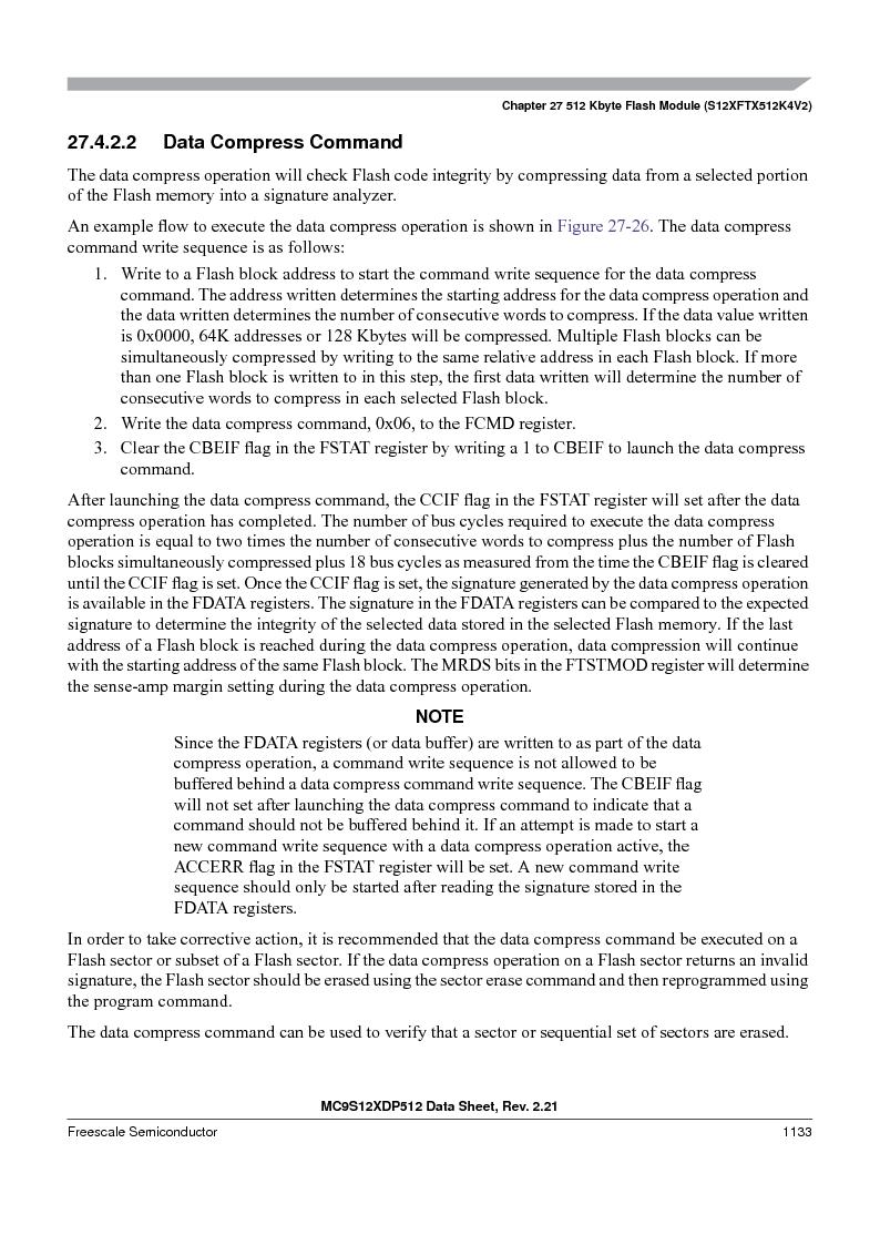 MC9S12XD256MAL ,Freescale Semiconductor厂商,IC MCU 256K FLASH 112-LQFP, MC9S12XD256MAL datasheet预览  第1131页