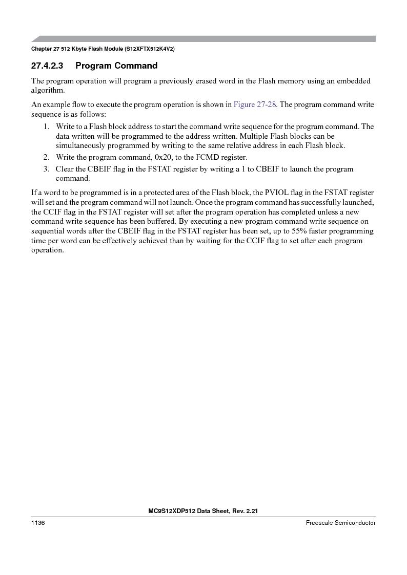MC9S12XD256MAL ,Freescale Semiconductor厂商,IC MCU 256K FLASH 112-LQFP, MC9S12XD256MAL datasheet预览  第1134页