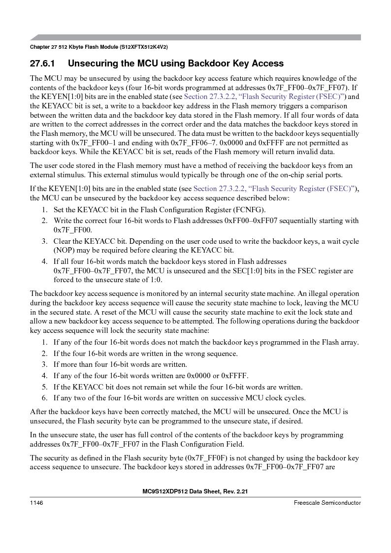 MC9S12XD256MAL ,Freescale Semiconductor厂商,IC MCU 256K FLASH 112-LQFP, MC9S12XD256MAL datasheet预览  第1144页