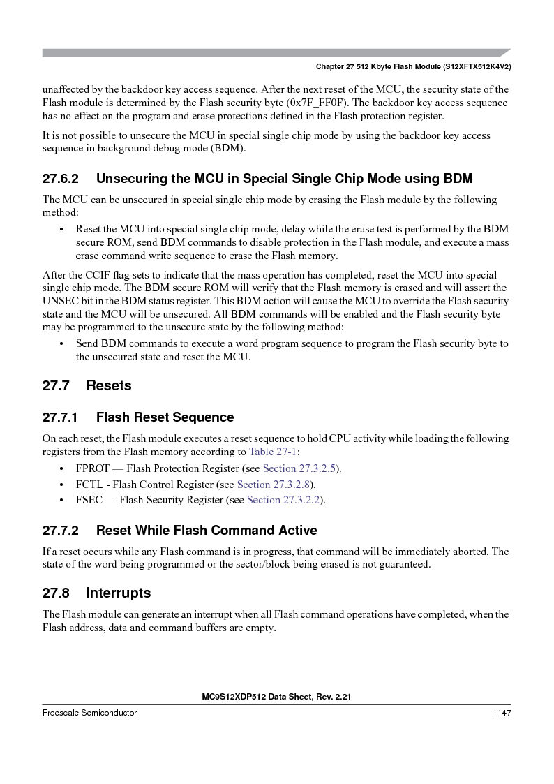MC9S12XD256MAL ,Freescale Semiconductor厂商,IC MCU 256K FLASH 112-LQFP, MC9S12XD256MAL datasheet预览  第1145页