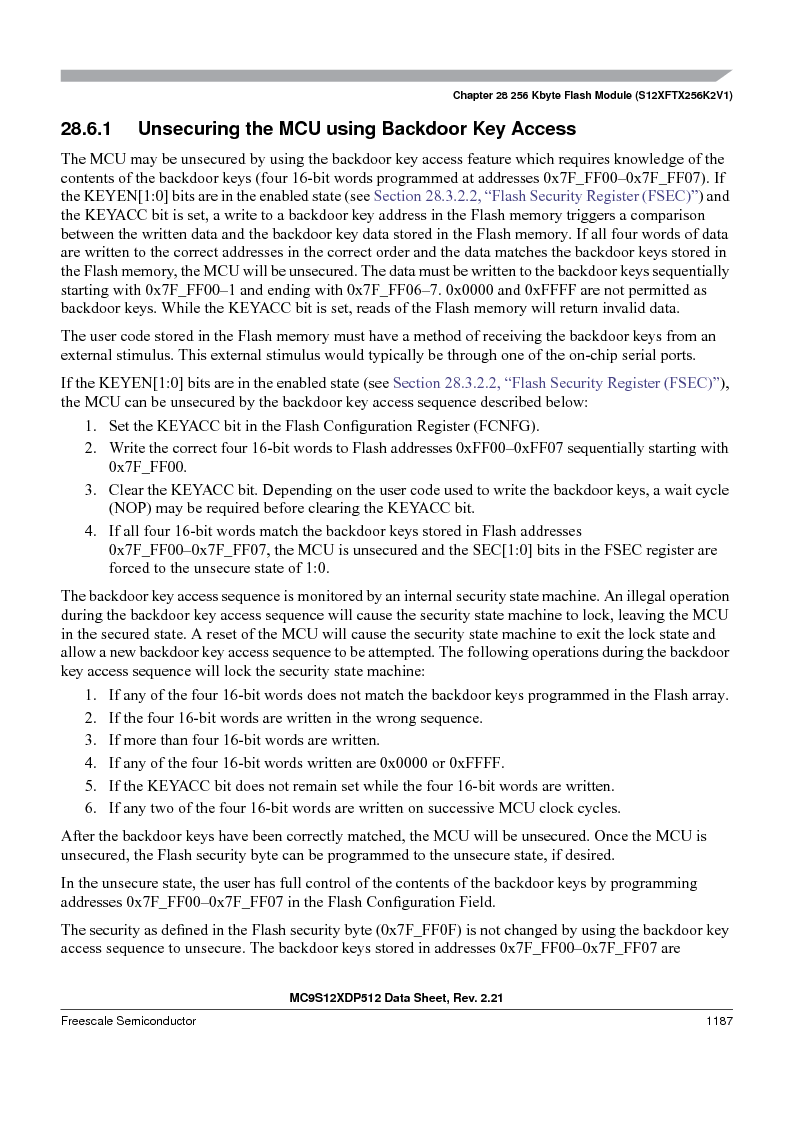 MC9S12XD256MAL ,Freescale Semiconductor厂商,IC MCU 256K FLASH 112-LQFP, MC9S12XD256MAL datasheet预览  第1185页