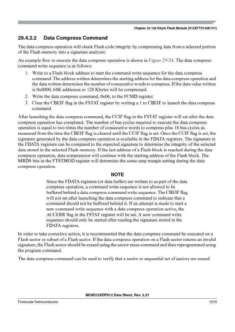MC9S12XD256MAL ,Freescale Semiconductor厂商,IC MCU 256K FLASH 112-LQFP, MC9S12XD256MAL datasheet预览  第1213页