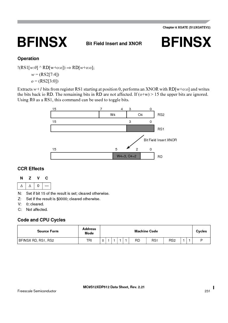 MC9S12XD256MAL ,Freescale Semiconductor厂商,IC MCU 256K FLASH 112-LQFP, MC9S12XD256MAL datasheet预览  第231页