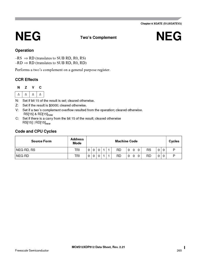 MC9S12XD256MAL ,Freescale Semiconductor厂商,IC MCU 256K FLASH 112-LQFP, MC9S12XD256MAL datasheet预览  第265页