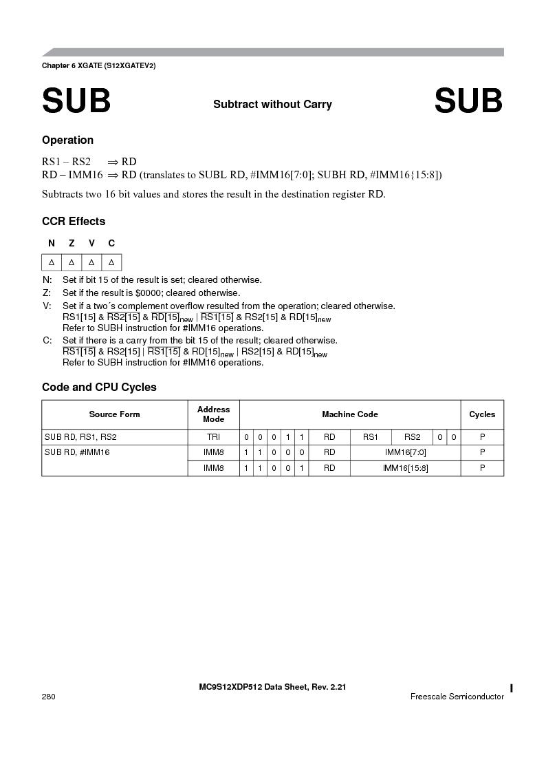 MC9S12XD256MAL ,Freescale Semiconductor厂商,IC MCU 256K FLASH 112-LQFP, MC9S12XD256MAL datasheet预览  第280页