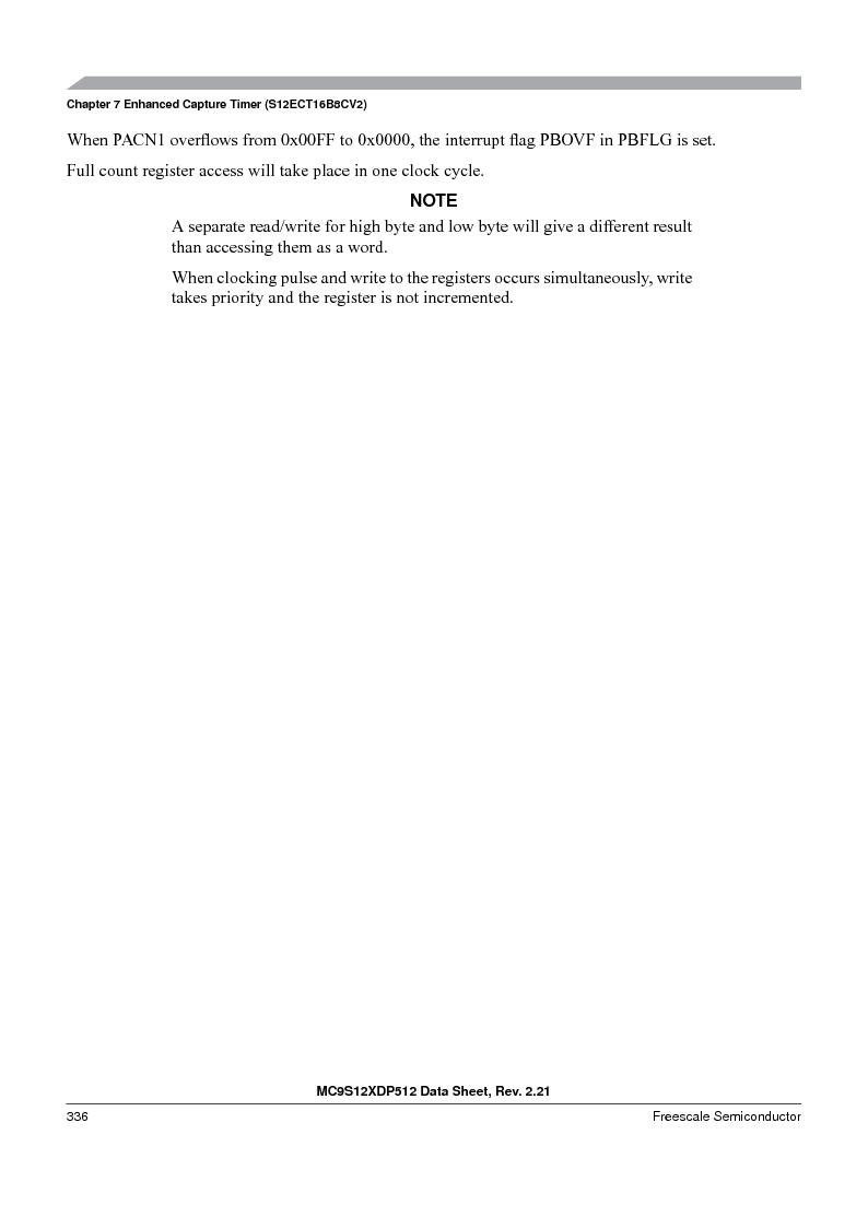 MC9S12XD256MAL ,Freescale Semiconductor厂商,IC MCU 256K FLASH 112-LQFP, MC9S12XD256MAL datasheet预览  第336页