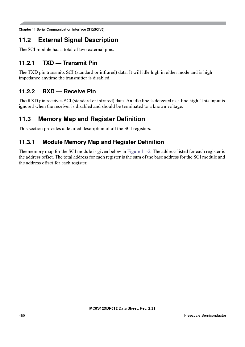 MC9S12XD256MAL ,Freescale Semiconductor厂商,IC MCU 256K FLASH 112-LQFP, MC9S12XD256MAL datasheet预览  第480页
