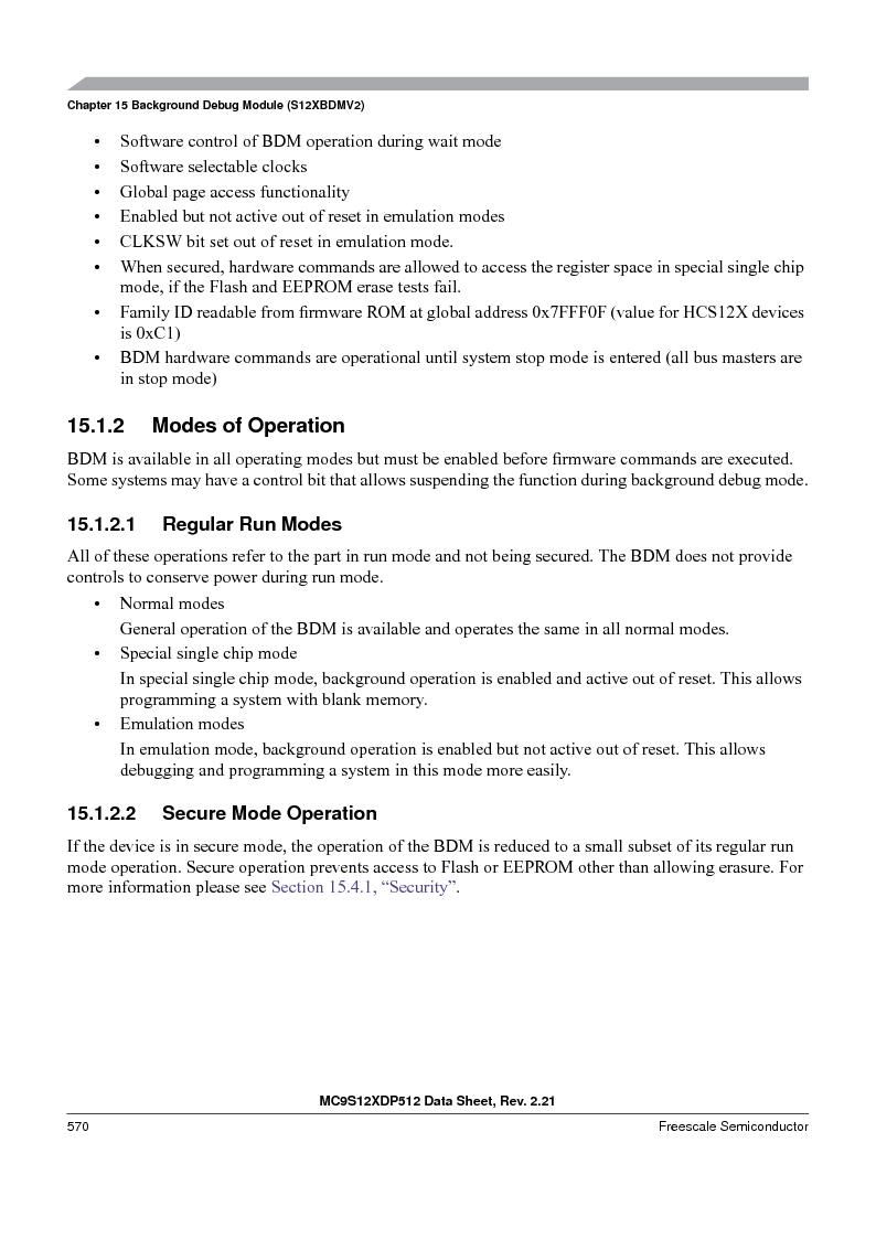MC9S12XD256MAL ,Freescale Semiconductor厂商,IC MCU 256K FLASH 112-LQFP, MC9S12XD256MAL datasheet预览  第570页