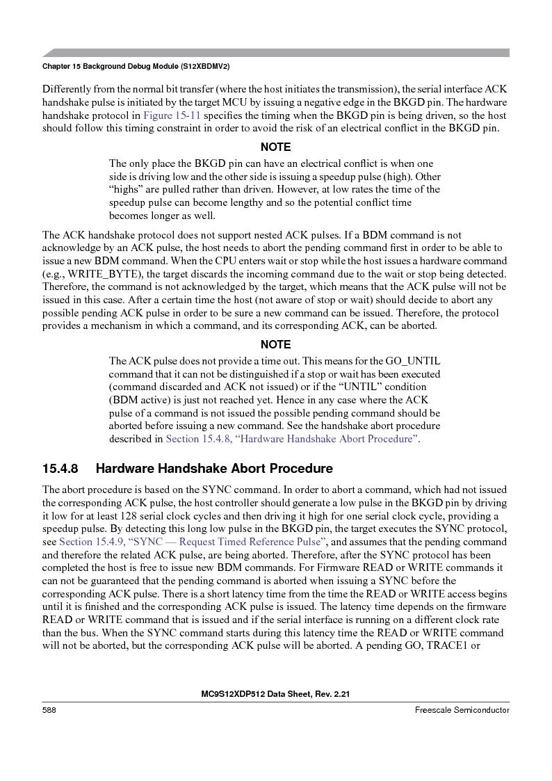 MC9S12XD256MAL ,Freescale Semiconductor厂商,IC MCU 256K FLASH 112-LQFP, MC9S12XD256MAL datasheet预览  第588页