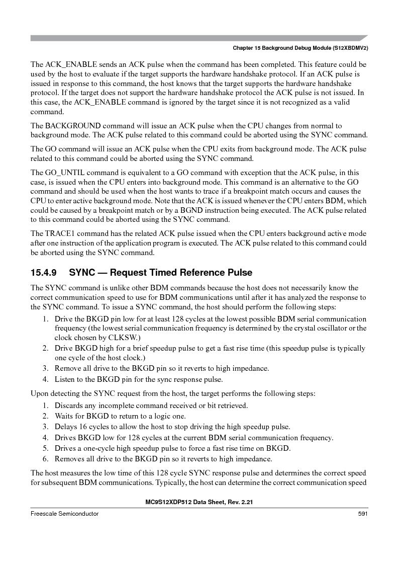 MC9S12XD256MAL ,Freescale Semiconductor厂商,IC MCU 256K FLASH 112-LQFP, MC9S12XD256MAL datasheet预览  第591页