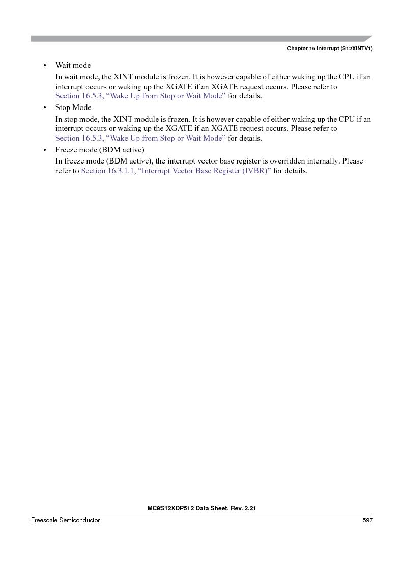 MC9S12XD256MAL ,Freescale Semiconductor厂商,IC MCU 256K FLASH 112-LQFP, MC9S12XD256MAL datasheet预览  第597页