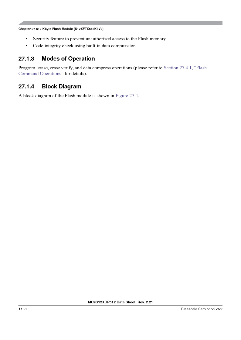 MC9S12XDP512CAL ,Freescale Semiconductor厂商,IC MCU 512K FLASH 112-LQFP, MC9S12XDP512CAL datasheet预览  第1106页
