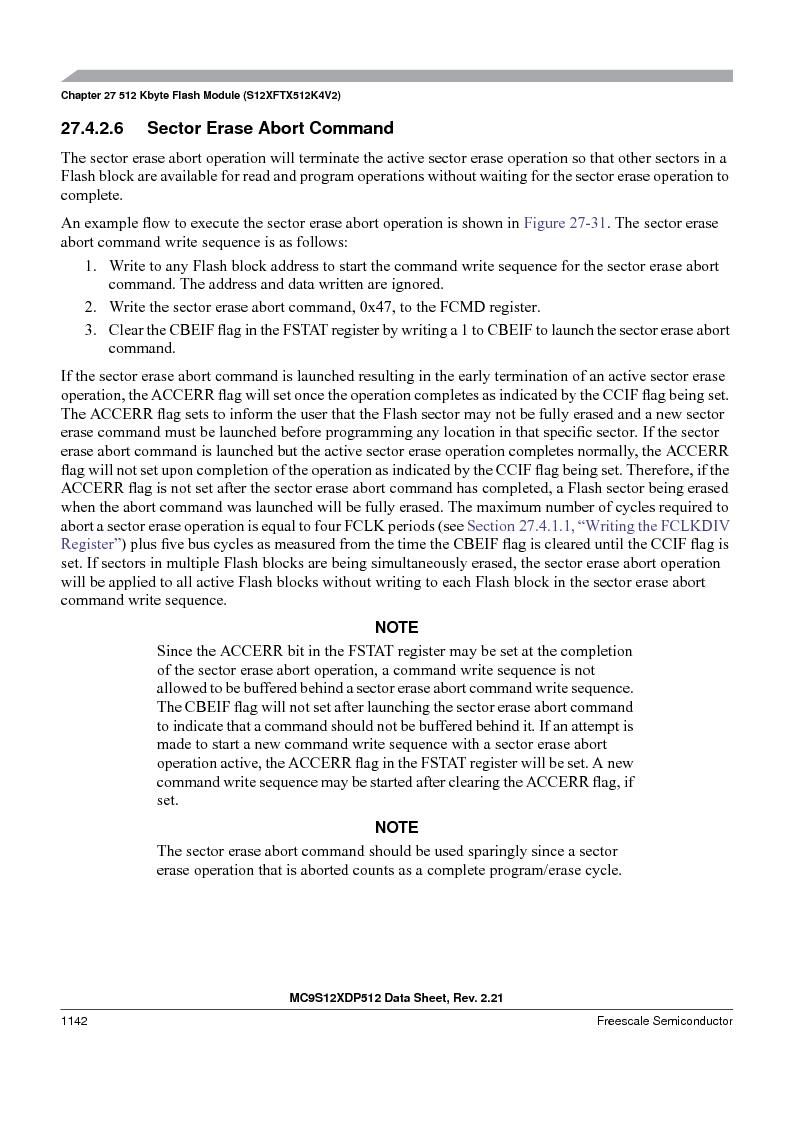 MC9S12XDP512CAL ,Freescale Semiconductor厂商,IC MCU 512K FLASH 112-LQFP, MC9S12XDP512CAL datasheet预览  第1140页