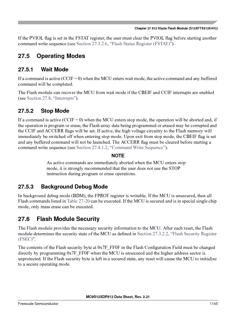 MC9S12XDP512CAL ,Freescale Semiconductor厂商,IC MCU 512K FLASH 112-LQFP, MC9S12XDP512CAL datasheet预览  第1143页