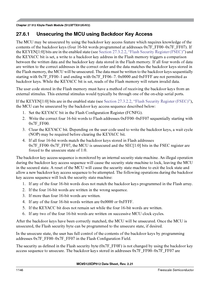 MC9S12XDP512CAL ,Freescale Semiconductor厂商,IC MCU 512K FLASH 112-LQFP, MC9S12XDP512CAL datasheet预览  第1144页