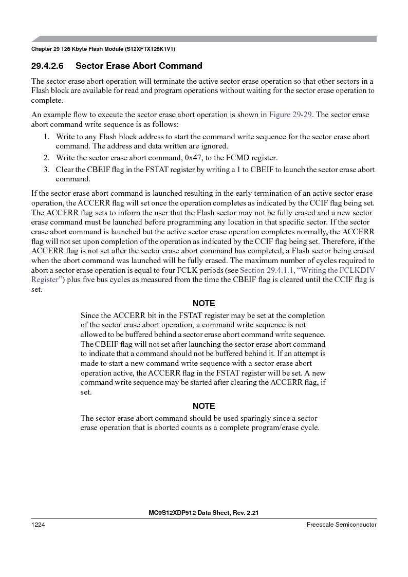 MC9S12XDP512CAL ,Freescale Semiconductor厂商,IC MCU 512K FLASH 112-LQFP, MC9S12XDP512CAL datasheet预览  第1222页