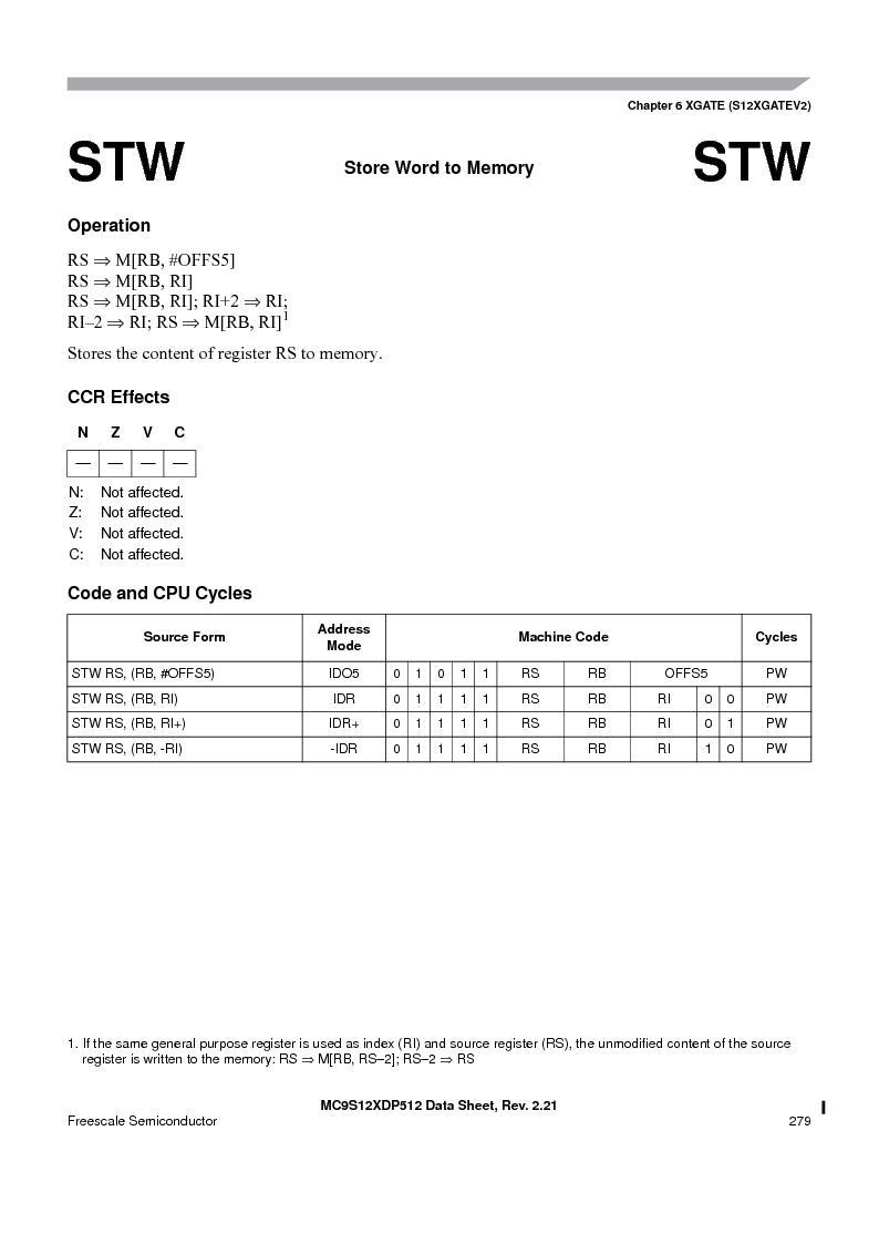 MC9S12XDP512CAL ,Freescale Semiconductor厂商,IC MCU 512K FLASH 112-LQFP, MC9S12XDP512CAL datasheet预览  第279页