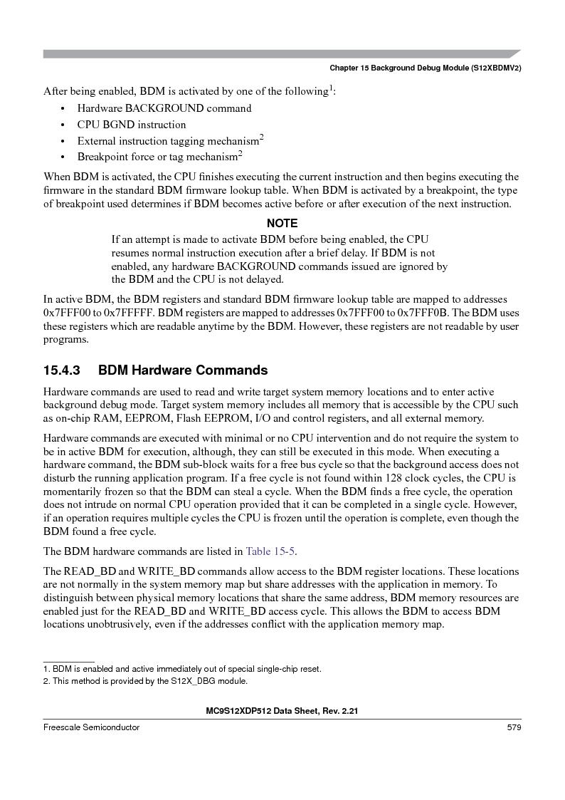 MC9S12XDP512CAL ,Freescale Semiconductor厂商,IC MCU 512K FLASH 112-LQFP, MC9S12XDP512CAL datasheet预览  第579页