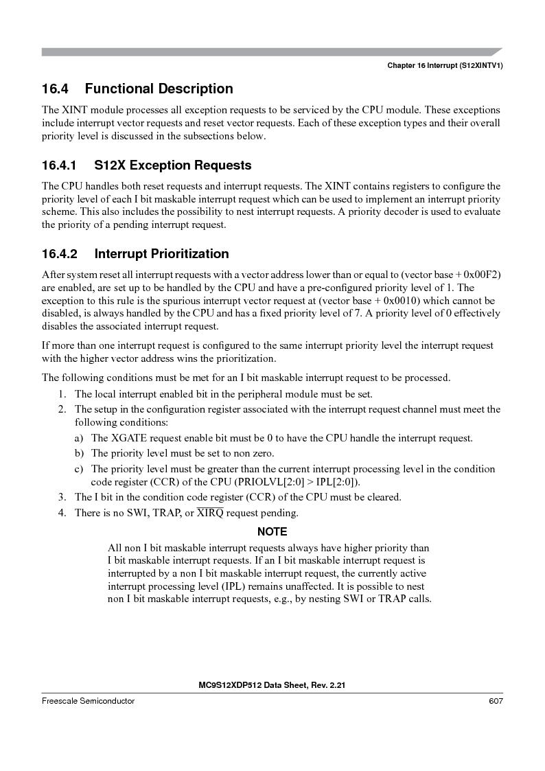 MC9S12XDP512CAL ,Freescale Semiconductor厂商,IC MCU 512K FLASH 112-LQFP, MC9S12XDP512CAL datasheet预览  第607页
