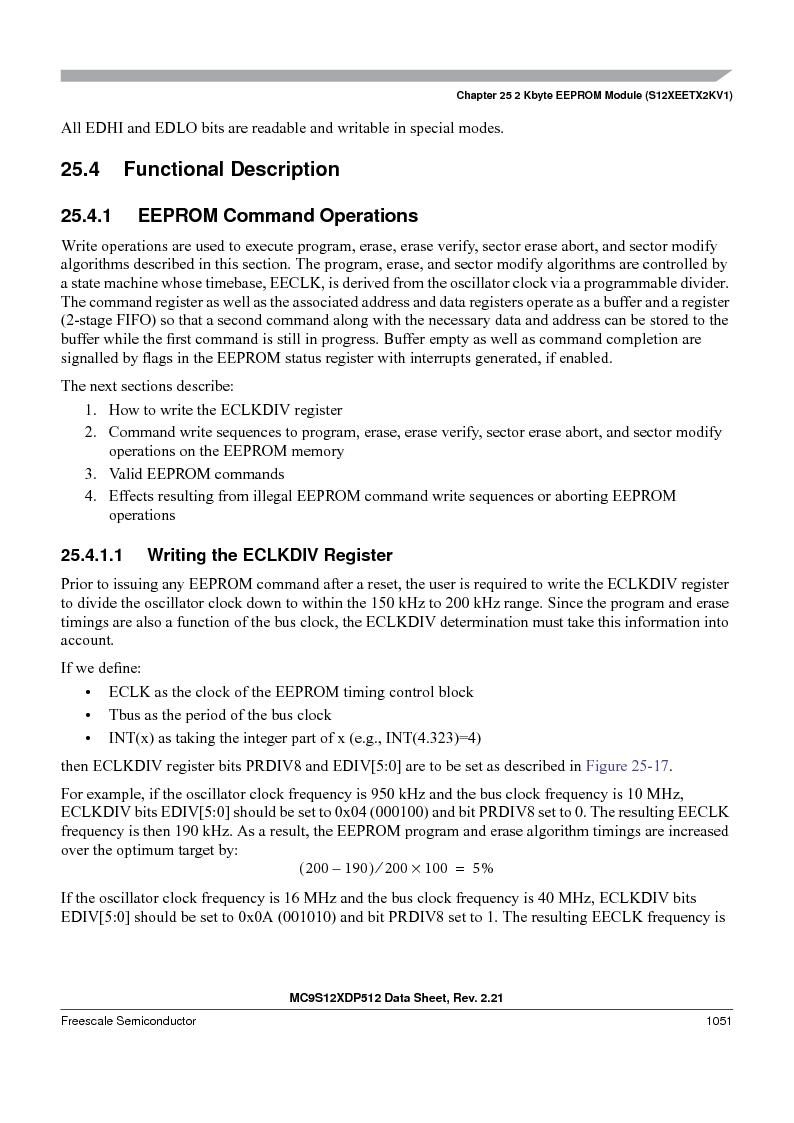 MC9S12XDT512MAL ,Freescale Semiconductor厂商,IC MCU 512K FLASH 112-LQFP, MC9S12XDT512MAL datasheet预览  第1049页