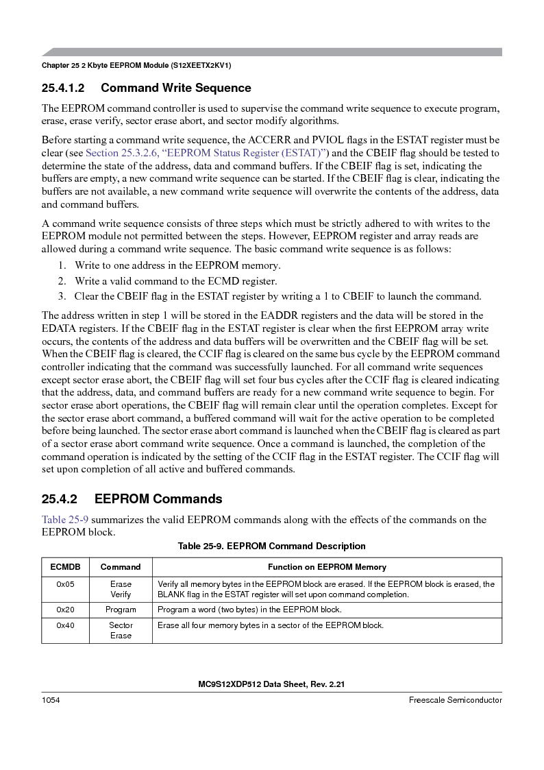 MC9S12XDT512MAL ,Freescale Semiconductor厂商,IC MCU 512K FLASH 112-LQFP, MC9S12XDT512MAL datasheet预览  第1052页