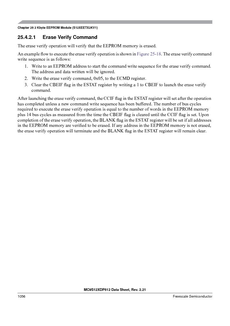 MC9S12XDT512MAL ,Freescale Semiconductor厂商,IC MCU 512K FLASH 112-LQFP, MC9S12XDT512MAL datasheet预览  第1054页