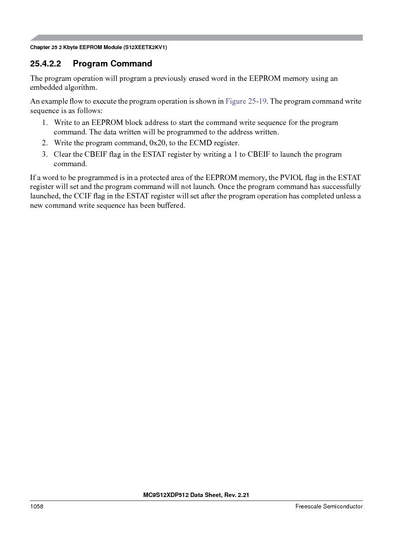 MC9S12XDT512MAL ,Freescale Semiconductor厂商,IC MCU 512K FLASH 112-LQFP, MC9S12XDT512MAL datasheet预览  第1056页