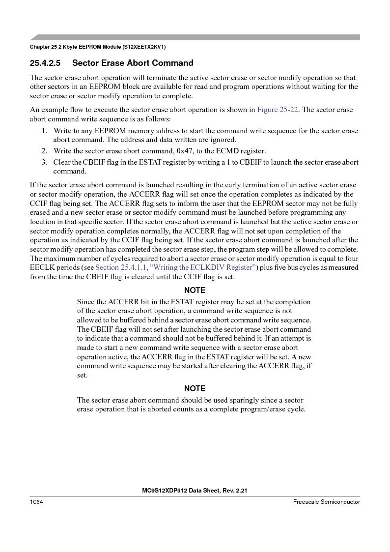 MC9S12XDT512MAL ,Freescale Semiconductor厂商,IC MCU 512K FLASH 112-LQFP, MC9S12XDT512MAL datasheet预览  第1062页