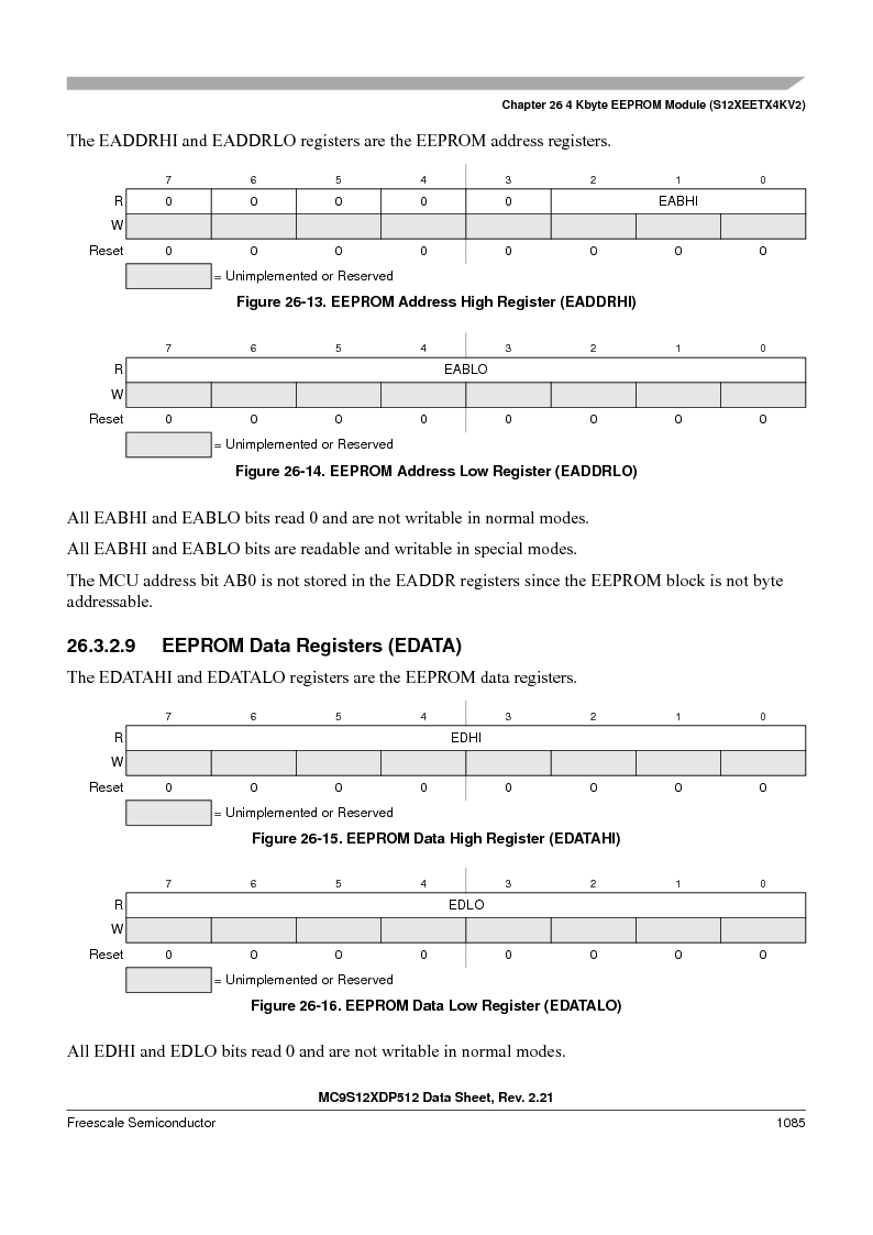 MC9S12XDT512MAL ,Freescale Semiconductor厂商,IC MCU 512K FLASH 112-LQFP, MC9S12XDT512MAL datasheet预览  第1083页