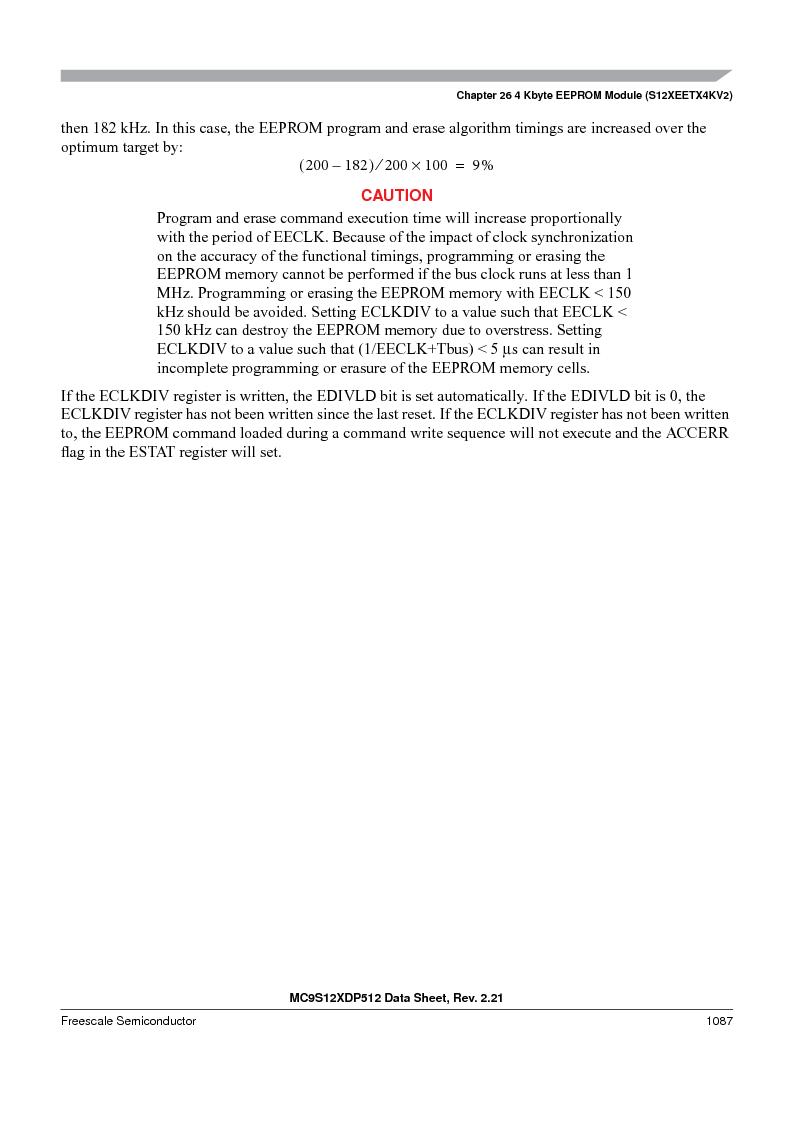 MC9S12XDT512MAL ,Freescale Semiconductor厂商,IC MCU 512K FLASH 112-LQFP, MC9S12XDT512MAL datasheet预览  第1085页