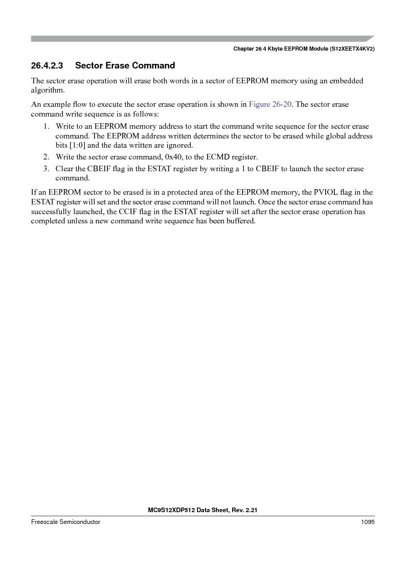 MC9S12XDT512MAL ,Freescale Semiconductor厂商,IC MCU 512K FLASH 112-LQFP, MC9S12XDT512MAL datasheet预览  第1093页