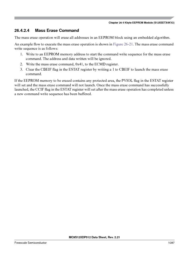 MC9S12XDT512MAL ,Freescale Semiconductor厂商,IC MCU 512K FLASH 112-LQFP, MC9S12XDT512MAL datasheet预览  第1095页