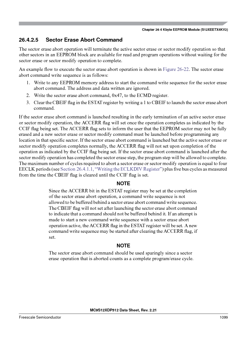 MC9S12XDT512MAL ,Freescale Semiconductor厂商,IC MCU 512K FLASH 112-LQFP, MC9S12XDT512MAL datasheet预览  第1097页
