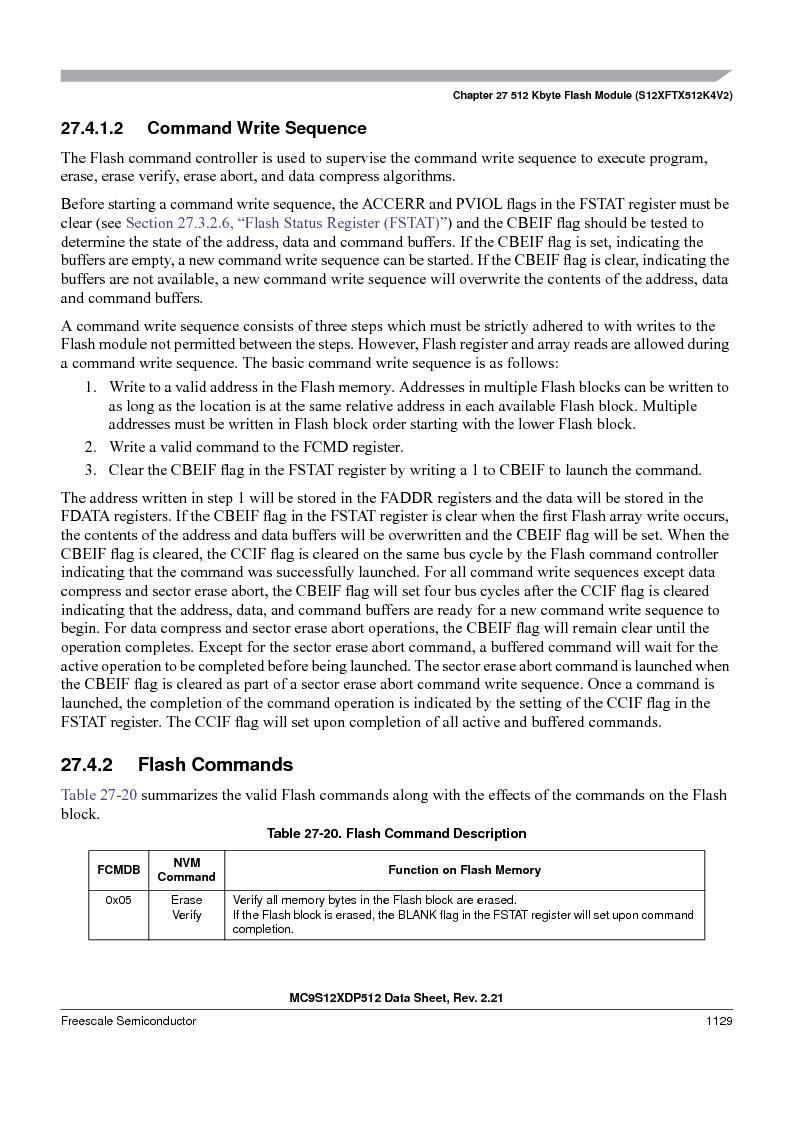 MC9S12XDT512MAL ,Freescale Semiconductor厂商,IC MCU 512K FLASH 112-LQFP, MC9S12XDT512MAL datasheet预览  第1127页