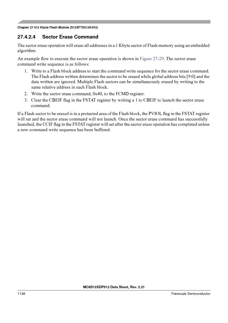 MC9S12XDT512MAL ,Freescale Semiconductor厂商,IC MCU 512K FLASH 112-LQFP, MC9S12XDT512MAL datasheet预览  第1136页