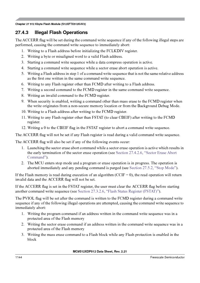 MC9S12XDT512MAL ,Freescale Semiconductor厂商,IC MCU 512K FLASH 112-LQFP, MC9S12XDT512MAL datasheet预览  第1142页
