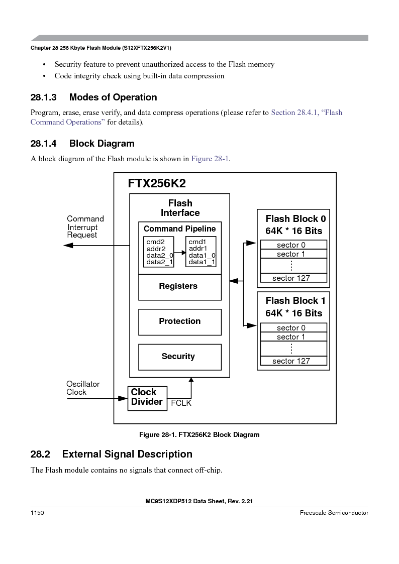 MC9S12XDT512MAL ,Freescale Semiconductor厂商,IC MCU 512K FLASH 112-LQFP, MC9S12XDT512MAL datasheet预览  第1148页