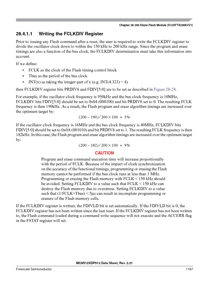 MC9S12XDT512MAL ,Freescale Semiconductor厂商,IC MCU 512K FLASH 112-LQFP, MC9S12XDT512MAL datasheet预览  第1165页