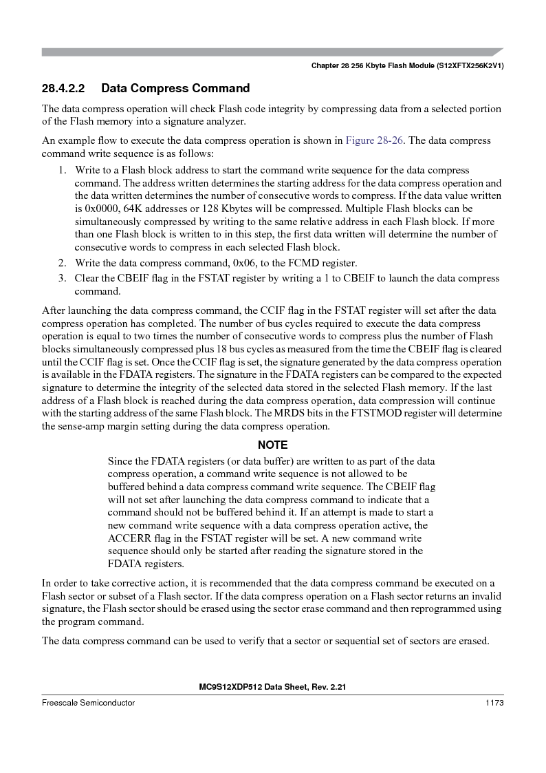 MC9S12XDT512MAL ,Freescale Semiconductor厂商,IC MCU 512K FLASH 112-LQFP, MC9S12XDT512MAL datasheet预览  第1171页