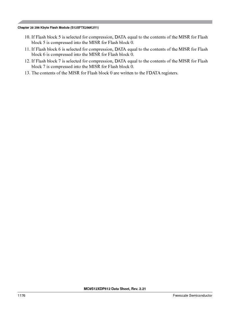 MC9S12XDT512MAL ,Freescale Semiconductor厂商,IC MCU 512K FLASH 112-LQFP, MC9S12XDT512MAL datasheet预览  第1174页