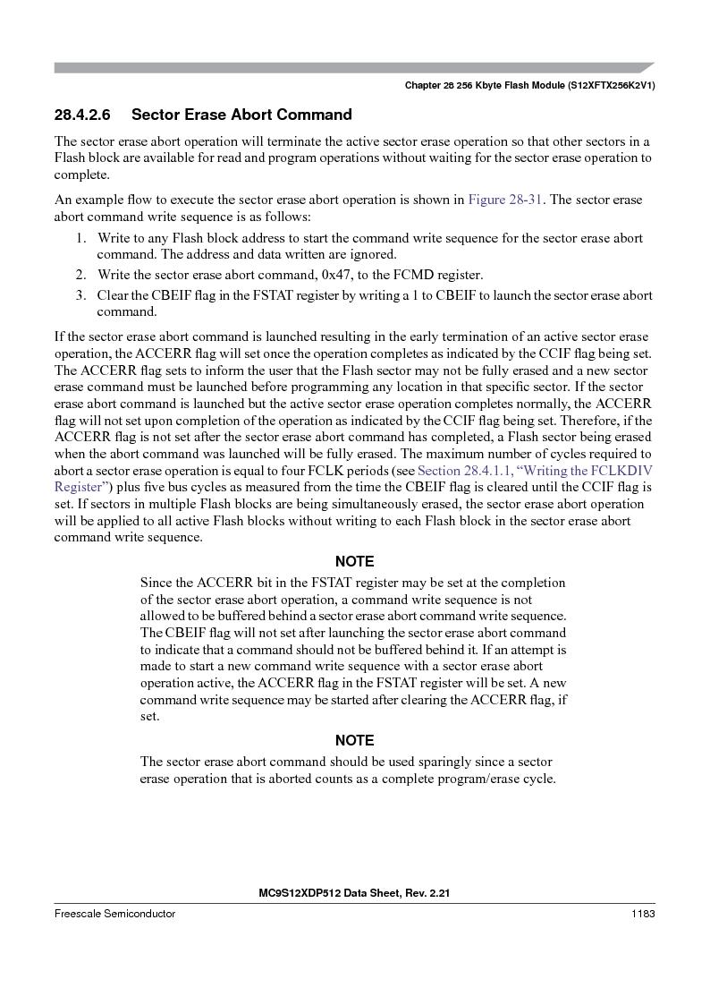 MC9S12XDT512MAL ,Freescale Semiconductor厂商,IC MCU 512K FLASH 112-LQFP, MC9S12XDT512MAL datasheet预览  第1181页
