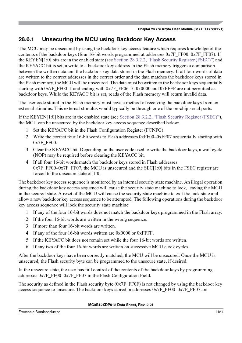 MC9S12XDT512MAL ,Freescale Semiconductor厂商,IC MCU 512K FLASH 112-LQFP, MC9S12XDT512MAL datasheet预览  第1185页